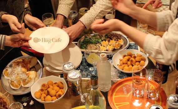 Hug CafeでHug Mog
